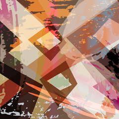 abstract background illustration, with paint strokes, splashes a