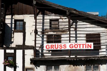 Grüss Göttingen-subscribed, the old Austrian house