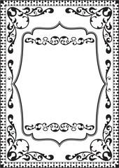Fine classic frame