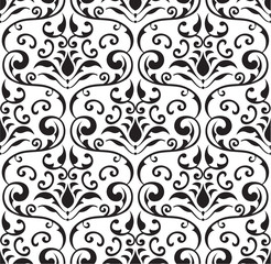 Seamless baroque tracery