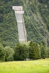 water power plant Walchensee Bavaria Germany