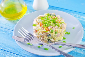fresh salad olivier