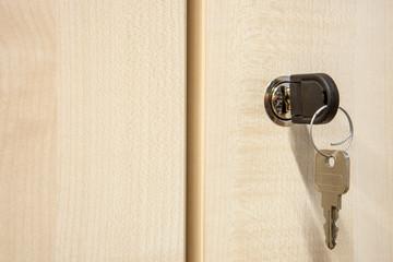 Schlüssel Schrank im Büro