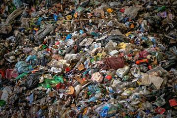 Large heap of garbage