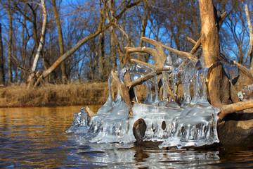 Beautiful Ice Formations Illinois