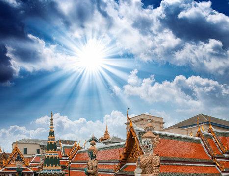 "Famous Bangkok Temple - ""Wat Pho"", Thailand"