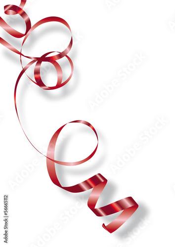 ruban cadeau rouge bolduc fichier vectoriel libre de droits sur la banque d 39 images fotolia. Black Bedroom Furniture Sets. Home Design Ideas
