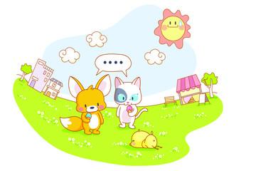 animal life theme