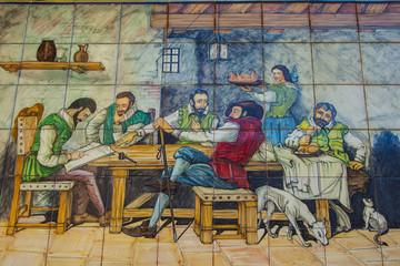 Panel de Cerámica, Talavera de la Reina, Toledo