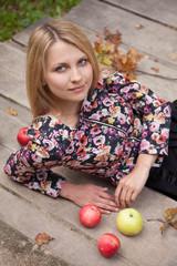 apples in park