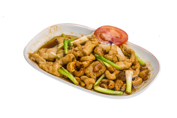 Chicken with cashew