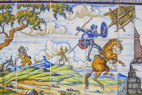 """Azulejos Para Baños En Talavera Dela Reina:del Quijote, azulejos de cerámica Talavera de la Reina"""" Fotos de"""