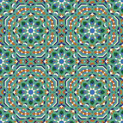 Abadan Seamless Pattern One