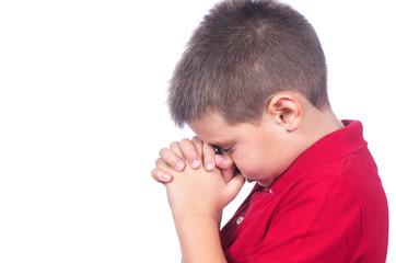 boy praying 2
