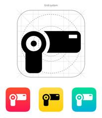 Hand-held camera icon.