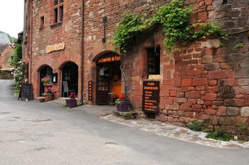 picturesque village of Collonges la Rouge