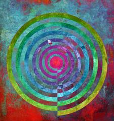 abstrakt textur zentrum spirale