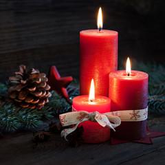 drei Kerzen