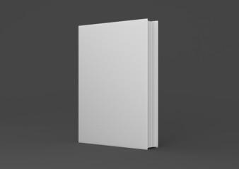 Buch Cover mittel dick aufgestellt Hintergrund dunkel