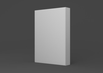 Buch Cover Rücken mittel dick aufgestellt