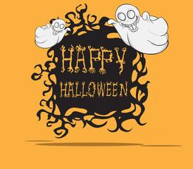 Ghosts. Halloween monster