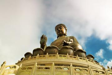 The Giant Buddha of Po Lin Monastery - Hong Kong
