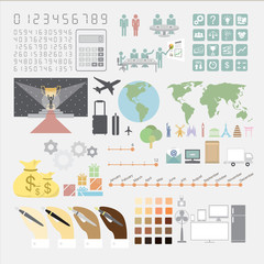 Infographics convention plan