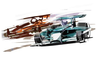 Acrylic Prints F1 F1-car