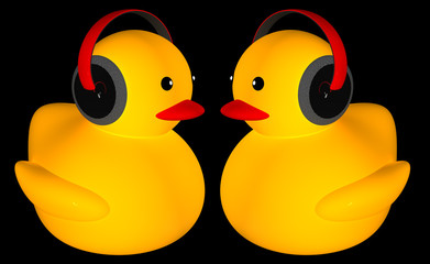Rubber duck listing music for adv or others purpose use