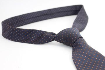Neck tie over white background