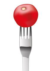 tomate Fourchette
