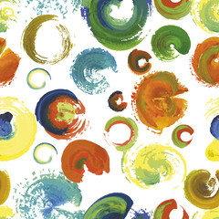 seamless paint stroke abstract background