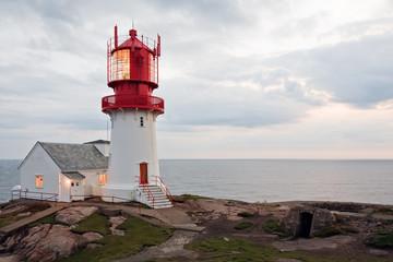 Garden Poster Lighthouse Lindesnes Fyr