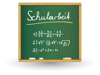 Schreibtafel - Schularbeit2