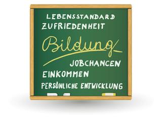 Schreibtafel - Bildung