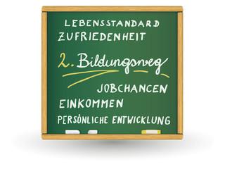 Schreibtafel - 2. Bildungsweg
