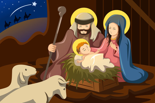 Mary and joseph clipart collection jpg - Clipartix