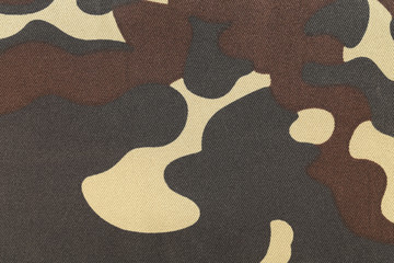 Camouflage pattern.