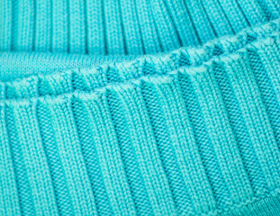 image of a blue knitted jersey