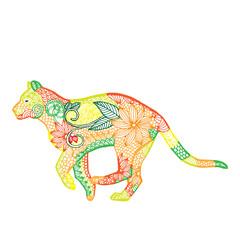 Tiger illustration- Chinese zodiac