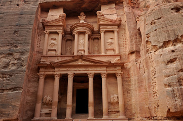 Petra - Jordan - the treasury, al khazneh