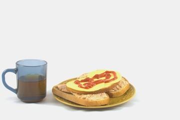Poor breakfast