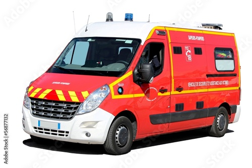 ambulance des pompiers photo libre de droits sur la banque d 39 images image 56877132. Black Bedroom Furniture Sets. Home Design Ideas