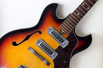 Electric Guitar Detail.