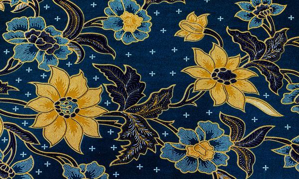 Pattern on a batik fabric.