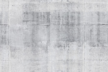 Fototapete - Seamless gray concrete wall background texture