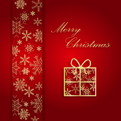 Czerwona karta świąteczna