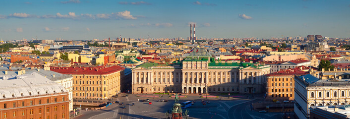 view of from Saint Isaac's Cathedral. St. Petersburg