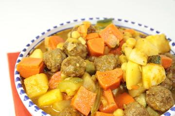 couscous de boulettes