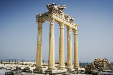 The Temple of Apollon@Antalya
